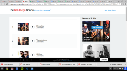 MohaviSoul #1 on Americana Charts on Reverbnation!