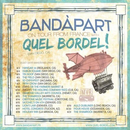 BandàBordel III — BandàpArt Returns to the US!!!