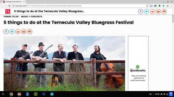 MohaviSoul @ Temecula Valley Bluegrass Festival