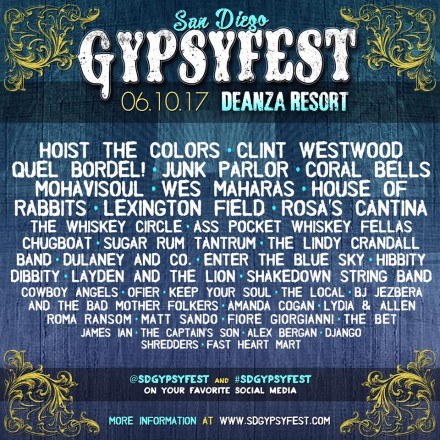 SD GypsyFest 2 Is This Saturday!!!