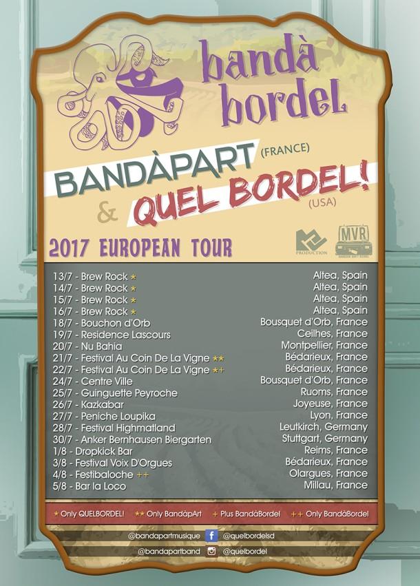BandàBordel IV: European Invasion!