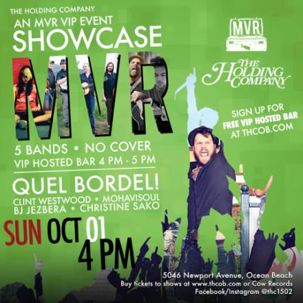 MVR Label Showcase @ THC 10/1