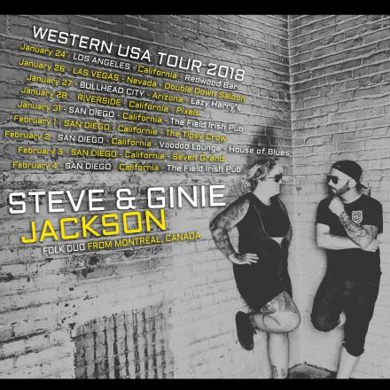 Steve & Ginie Jackson Return to USA this Winter!!!